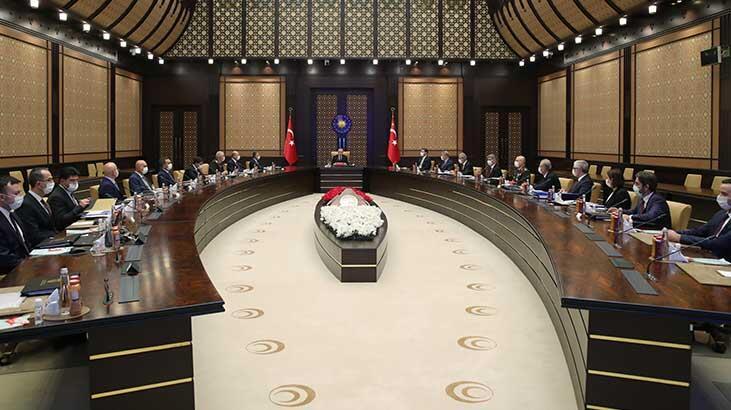 Beştepe'de Cumhurbaşkanı Erdoğan başkanlığındaki toplantı başladı