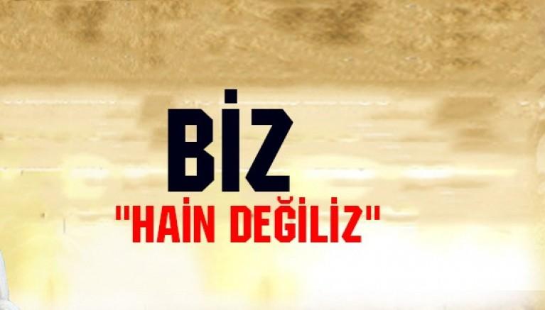 Biz Hain Değiliz / Rezan HUSSAIN
