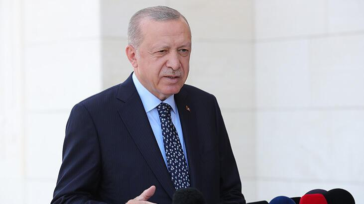 Cumhurbaşkanı Erdoğan, hudut birliklerine seslendi: Bir yalan terörü Türkiye'de estiriliyor