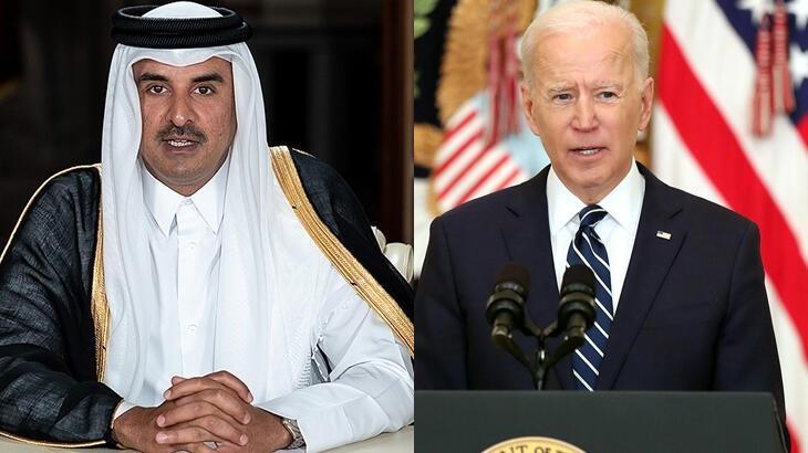 Katar Emiri ve Biden Afganistan'daki gelişmeleri görüştü