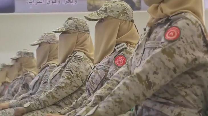 Suudi Arabistan ordusunda kadın devrimi